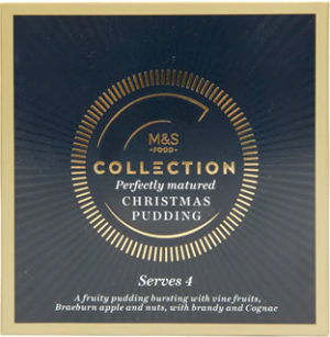 Marks And Spencers The Collection Christmas Pudding