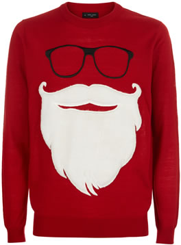 Christmas Jumper 2018: New Look Santa Claus Jumper AW18 GBP 19.99