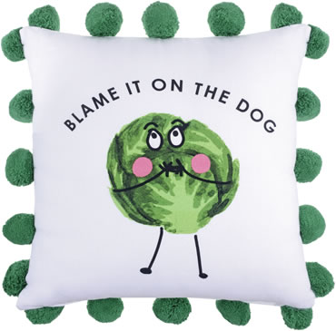 Next blame it on the dog cushion