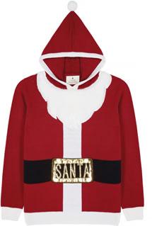 Christmas Jumper 2018: Next Santa Hoodie