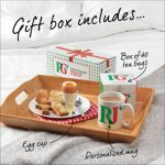 Social Media Giveaway Only: PG Tips Personalised Breakfast in Bed gift sets?