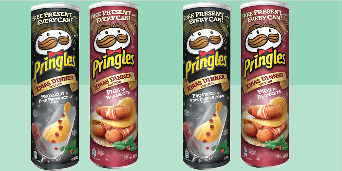Pringles Christmas Edition flavours