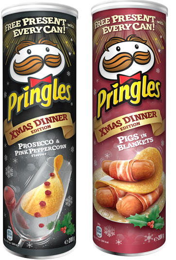 Pringles New Flavours