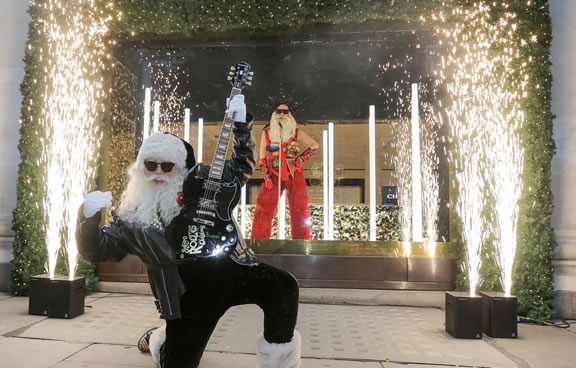"Selfridges is the first department store in the world to unveil its Christmas windows and full in-store displays led by the theme ""Selfridges Rocks Christmas"" (77).jpg"