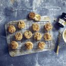 Stilton And Pickled Walnut Scones