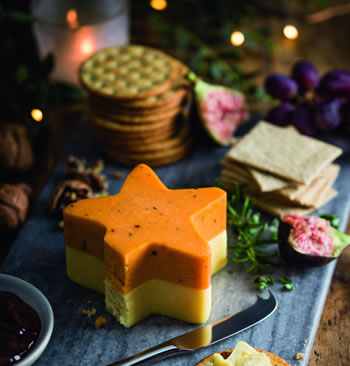 Tesco Cheese Truckle Star