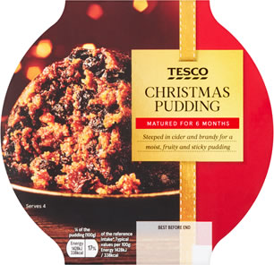 Tesco Christmas Pudding