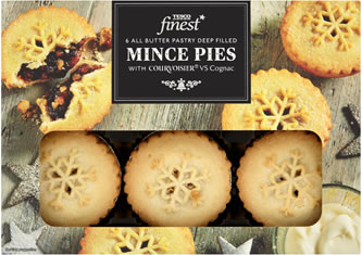 Tesco Finest All Butter Mince Pies