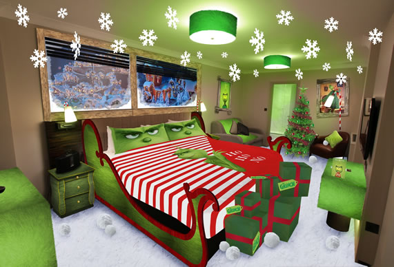 The Grinch Hotel Lair