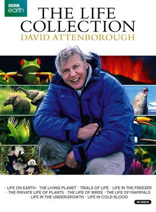 David Attenborough The Life Collection