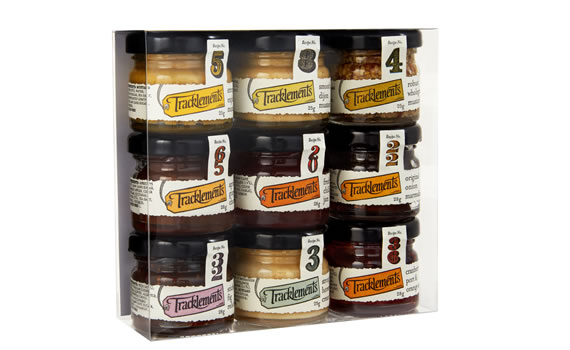 Tracklements 9 Mini Jar Gift Pack