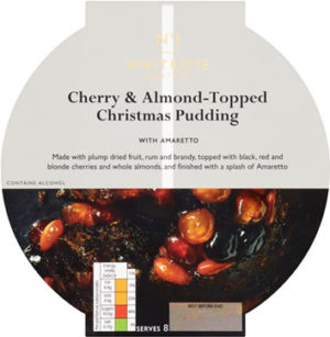 Waitrose And Partners Cherry &-Topped Christmas Puddings