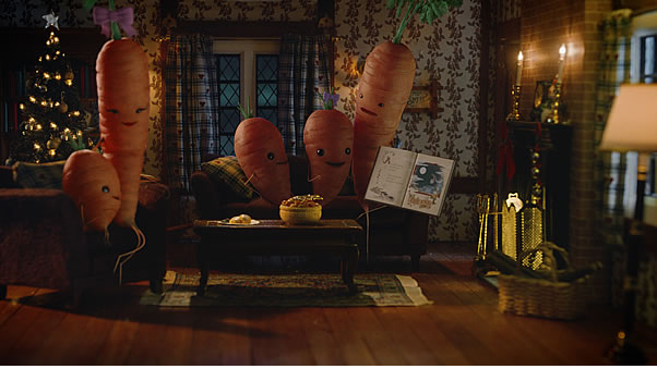 Aldi Christmas TV Advert 2018 - Kevin the Carrot and the Wicked Parsnip