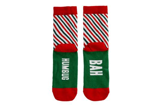 Paperchase Bah Humbug Christmas socks £6.00