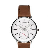Adexe Grande THEY Brown & White Watch