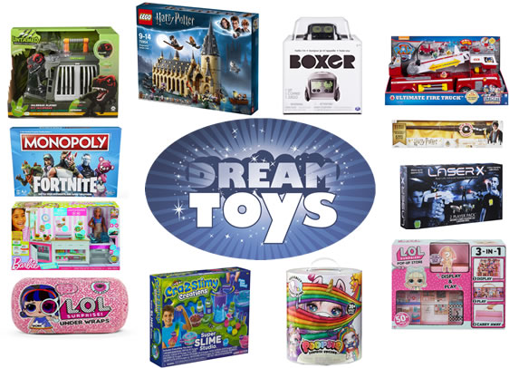 DreamToys for Christmas 2018