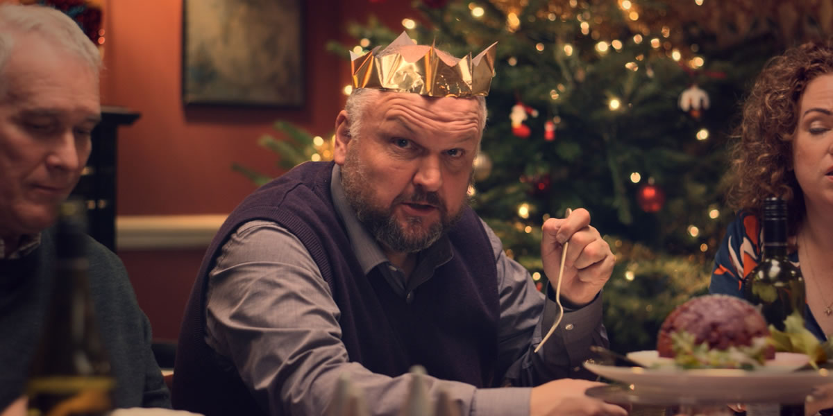 Image from 'Everyone's Welcome' Tesco Christmas Advert 2018