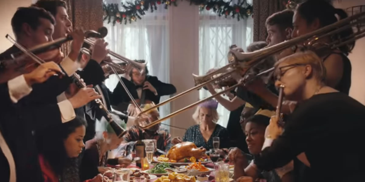 Image from Lidl's Christmas advert 2018
