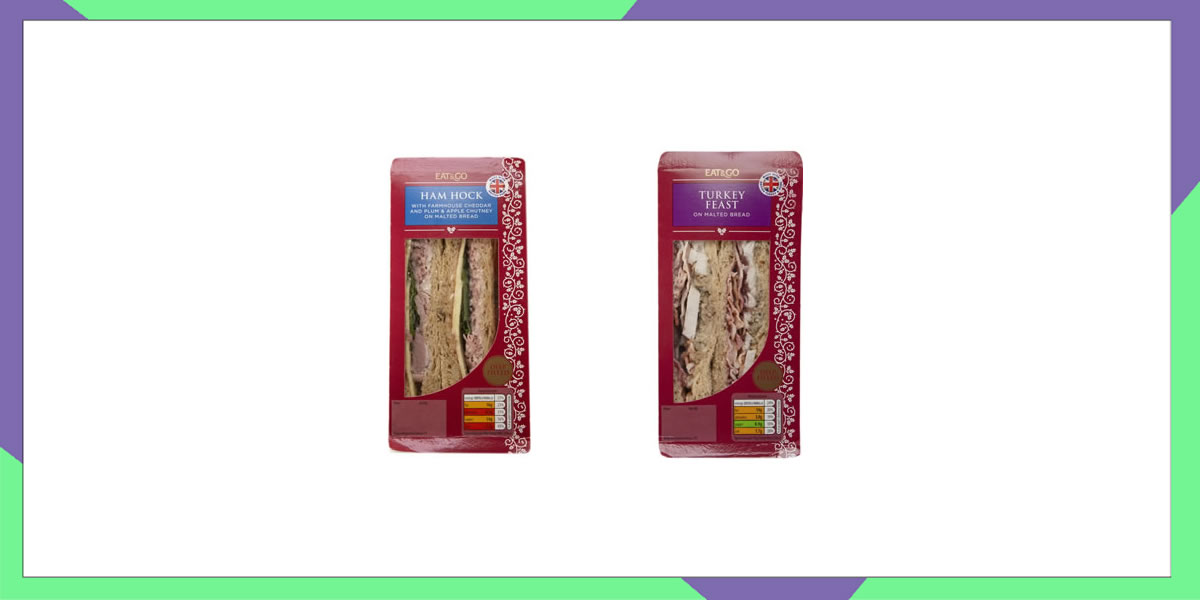 Image of Aldi Christmas sandwiches