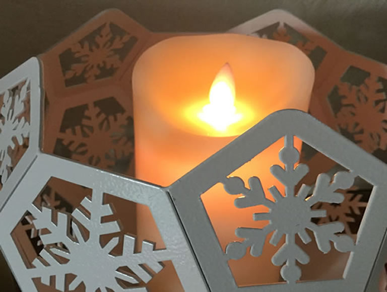 Image of Blazing Balls candle on