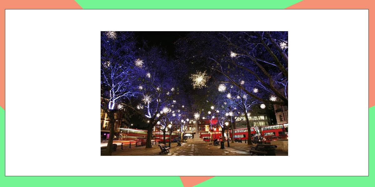 Image of London at night