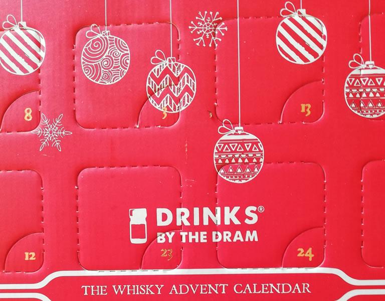 Image of Laithwaites Whisky Advent Calendar Closeup