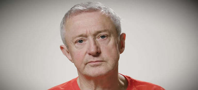 Image of Louis Walsh from Elves Behaving' Badly advert