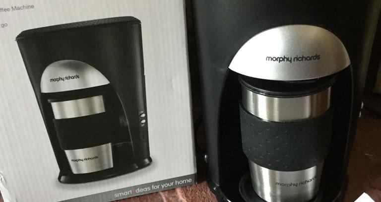 Image of Morphy Richards Machine