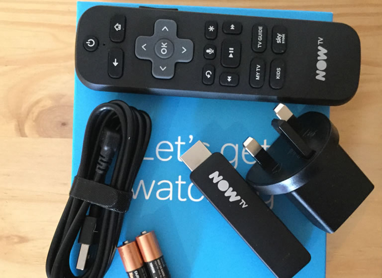 Christmas Gift Review 2018: NOW TV Smart Stick