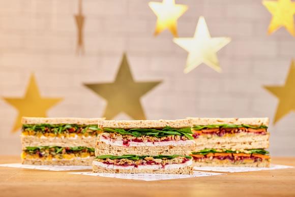 Pret Christmas Sandwiches
