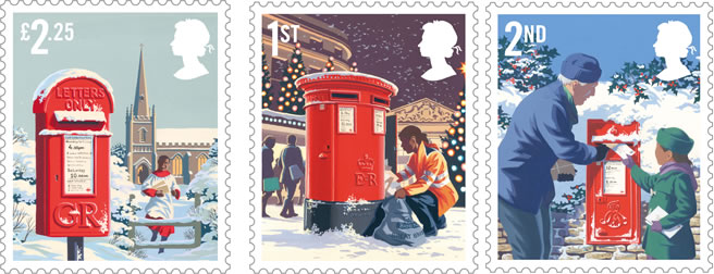 Royal Mail Stamps Christmas Advert