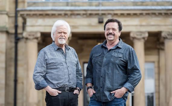 Merrill and Jay Osmond