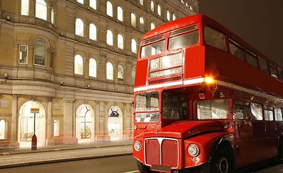 Vintage London Red Bus