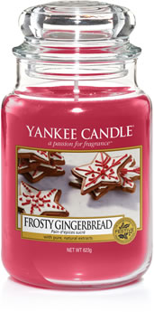Yankee Candle Frosted Gingerbread Candle
