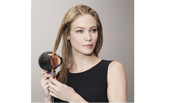 Using Revlon Salon 360 Surround AC hair dryer