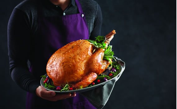 Specially Selected Fresh British Roly Poly Turkey (4-5.99kg)