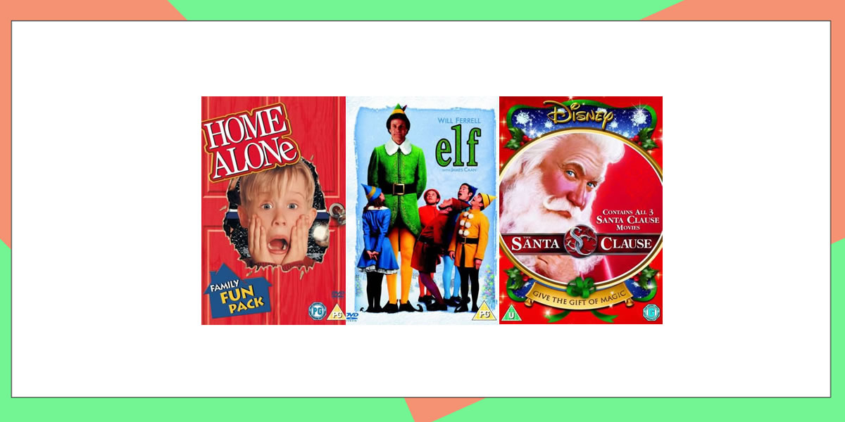 Image of Christmas DVDs