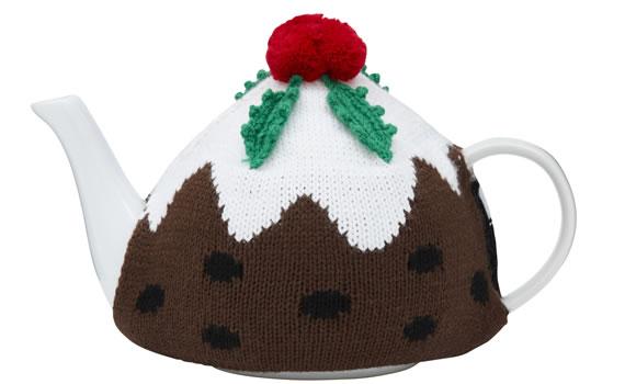 George Home Christmas Pudding Teapot