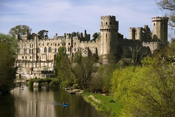 Warwick Castle Entry