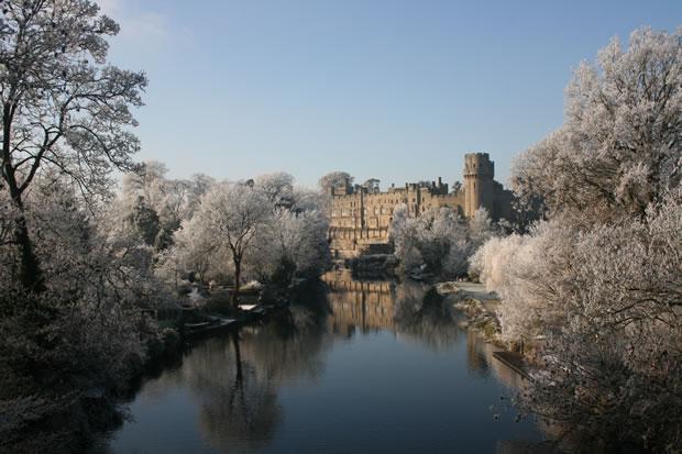 Warick Castle in Winter
