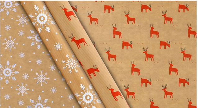 Waitrose & Partners Christmas wrapping paper