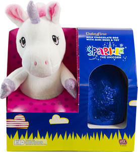 Dairyfine Egg Sparkle the Unicorn Plush Toys