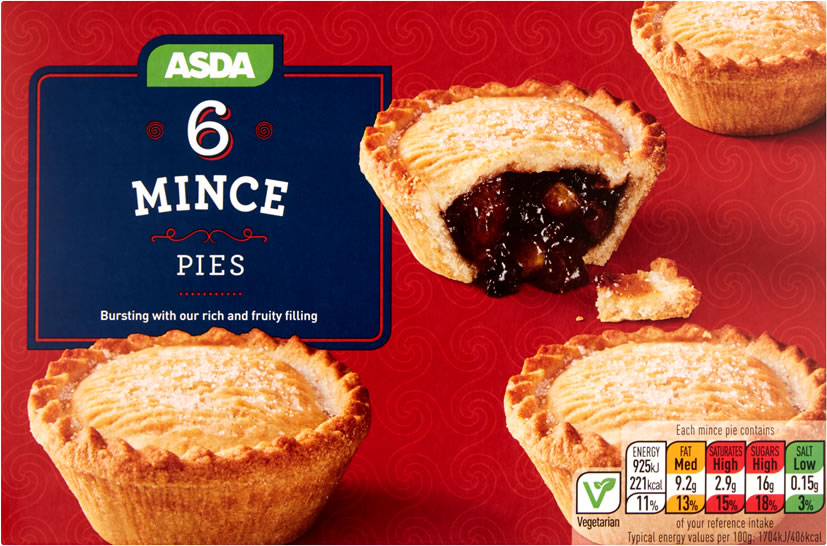 Image of ASDA mince pies box