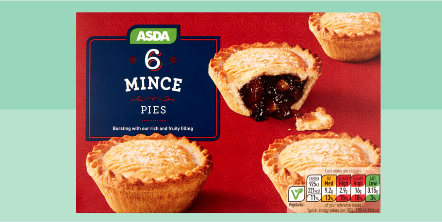 Image of ASDA mince pies