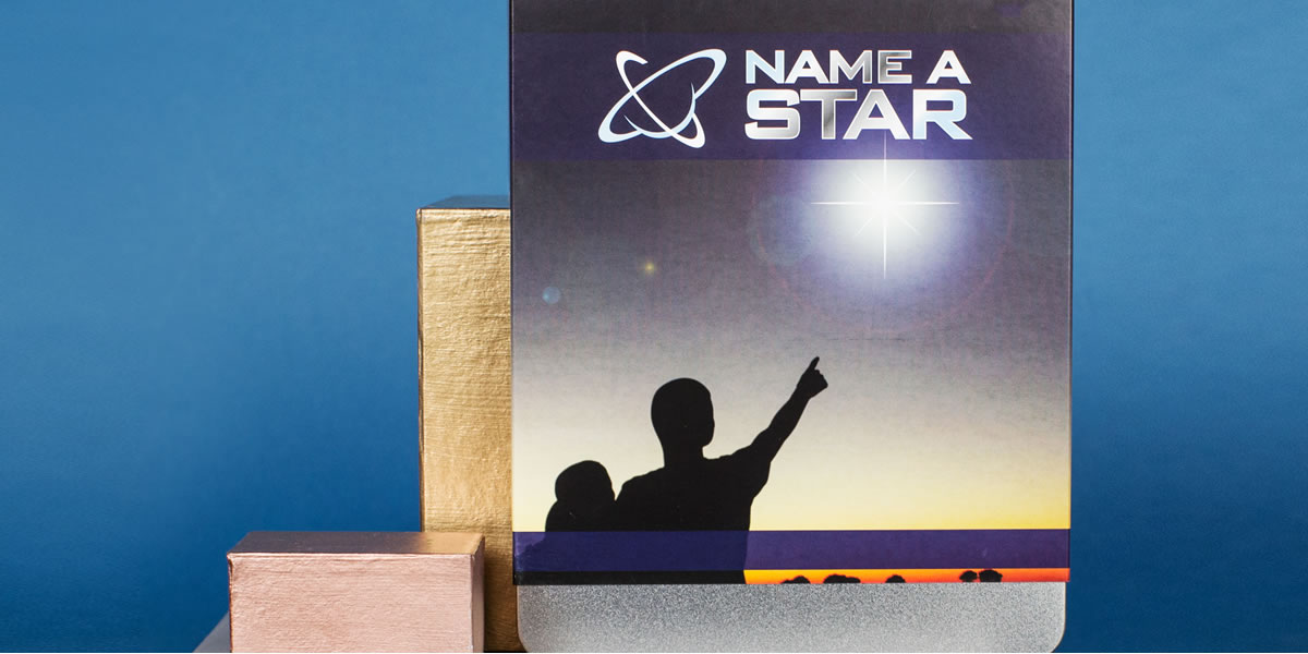 Image of name a star gift