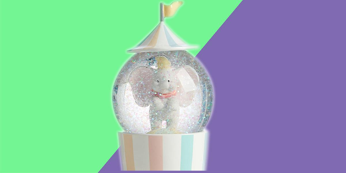 Dumbo Disney snow globe collection