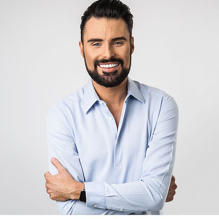 NATIVITY! THE MUSICAL 2019. Rylan Clark Neal 'The Critic'. Photo Oliver Rosse