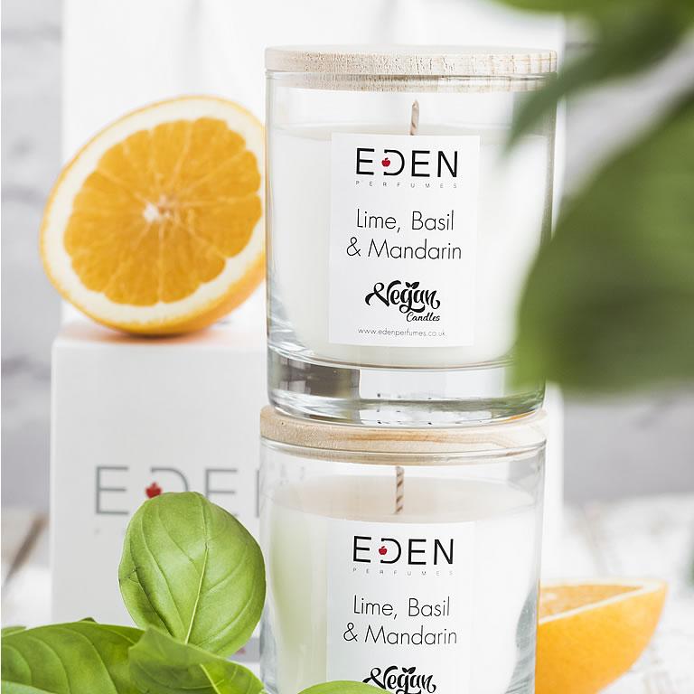 Best Vegan Candle - Eden Perfumes