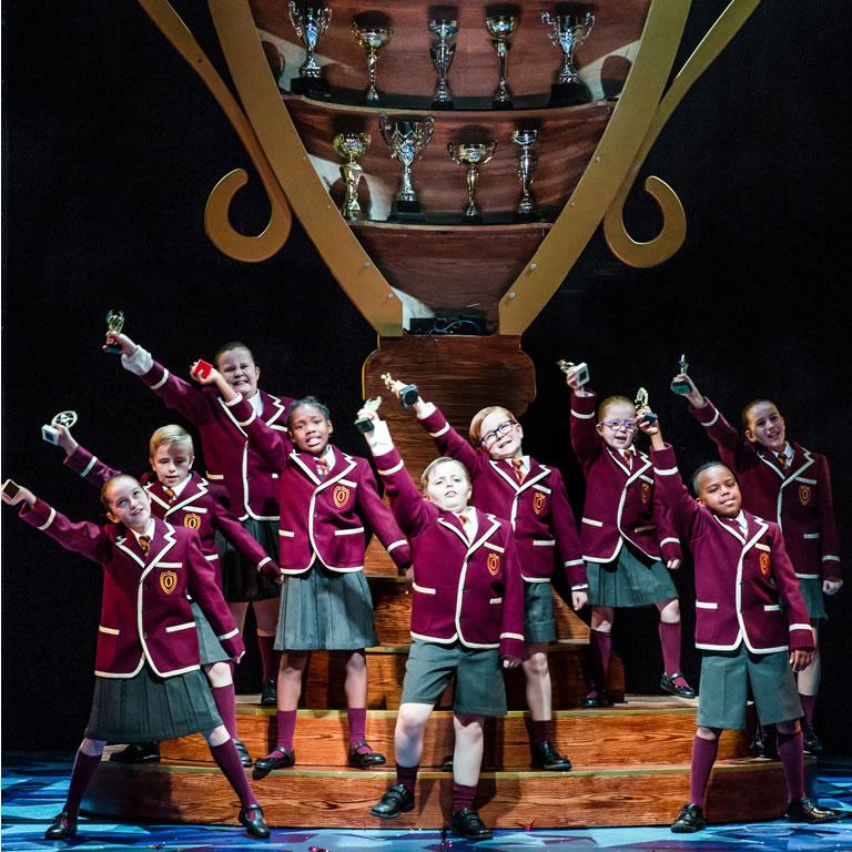 NATIVITY! THE MUSICAL. The Children of Oakmoor School. Photo by RIchard Davenport