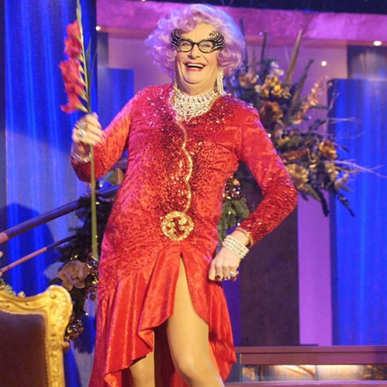 Image from Dame Edna BBC Show